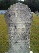 """Martha Ann """"Mattie"""" <I>Taylor</I> McCulloch"""