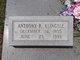 """Profile photo:  Anthony R. """"Tony"""" Klingele"""