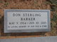 Don Sterling Barker