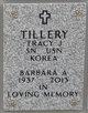 Profile photo:  Barbara A. Tillery