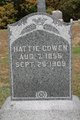 Profile photo:  Hattie <I>Inman</I> Cowen