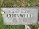 """Harold """"Harry"""" Cornwell"""