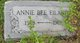 """Profile photo:  Anna Bee """"Annie"""" <I>Brownell</I> Eiland"""