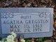 Profile photo:  Agatha Gregston
