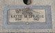 "Catherine Mae ""Katie"" Sprague"