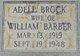 Profile photo:  Adell <I>Brock</I> Barber