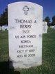 Thomas A Berry