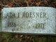 Profile photo:  Ada I <I>Roesner</I> Reeser
