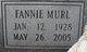 Fannie Murl <I>Ivy</I> Cameron