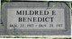Mildred Eva Benedict