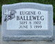 """Profile photo:  Eugene O """"Gene"""" Balleweg"""