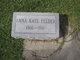 Profile photo:  Anna Kate <I>Fudge</I> Felder