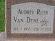 Audrey Ruth <I>Everhart</I> VanDyne