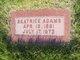 Beatrice Adams