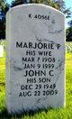 Marjorie <I>Prickett</I> Dobrovolny