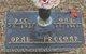 Opal Franklin <I>Agan</I> Freeman