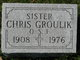 Profile photo: Sr Chris Groulik