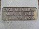Cecil M. Anderson