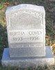 Profile photo:  Bertha <I>Neal</I> Covey