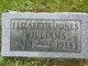 Elizabeth Faye <I>Jones</I> Williams