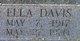 Ella <I>Davis</I> Blevins