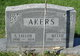 "Profile photo:  Almettie P. ""Mettie"" <I>Simmons</I> Akers"