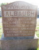 Profile photo:  Catherine Matilda <I>Stambaugh</I> Albaugh