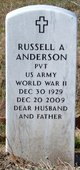 Profile photo:  Russell Arthur Anderson