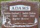 "Profile photo:  Judith Freedom ""Judy"" <I>Chilton</I> Adams"