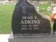 Profile photo:  Dean E. Adkins