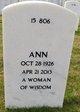 Ann <I>Taylor</I> Roberson