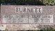 Profile photo:  Bertha <I>Spears</I> Burnett