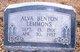 Profile photo:  Alva Benton Lemmons