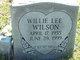 Willie Lee Wilson