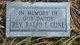 Rev Ralph E Cline