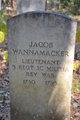 Lieut Jacob Wannamaker