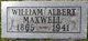 William Albert Maxwell