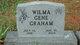 "Wilma Gene ""Gene"" <I>Cooper</I> Graham"