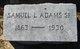 Samuel Lee Adams, Sr