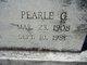 Profile photo:  Pearle <I>Gregory</I> Belyeu