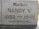 "Profile photo:  Nancy Virginia ""Jennie"" <I>Hudson</I> Ferris"