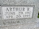 Profile photo:  Arthur R. Blue