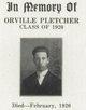Orville L Pletcher