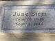 June Ann Birri