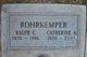 Profile photo:  Ralph C. Rohrkemper