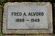 Profile photo:  Fred Adelbert Alvord