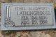 Ethel <I>Bludworth</I> Lathinghouse