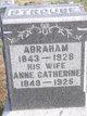 Profile photo:  Abraham Strouse