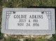 Profile photo:  Goldie Adkins