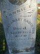 """Frances E. """"Fannie"""" Anderson"""